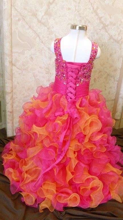 National pageant dresses for girls