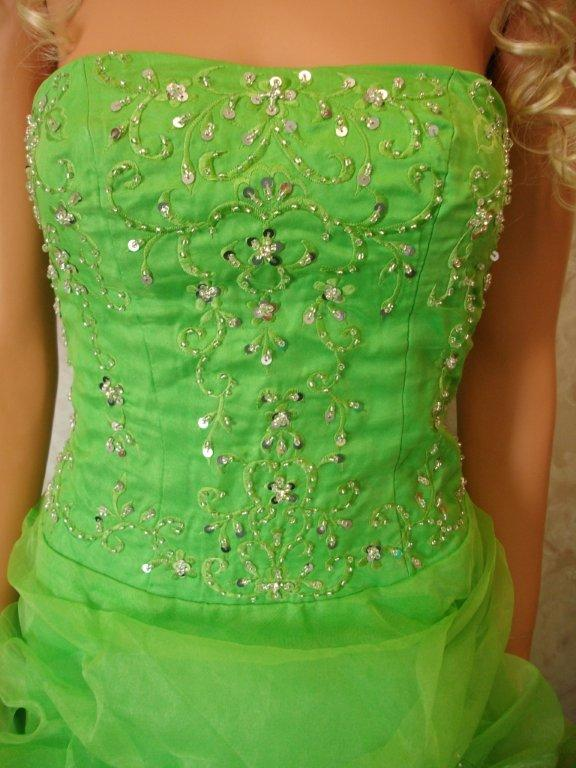 bodice sequin beaded embroidery