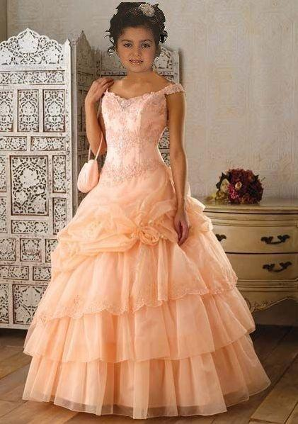 child pageant ball gown