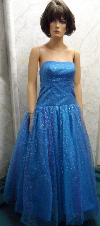 sequin prom dress