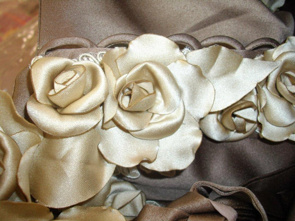 applique and roses