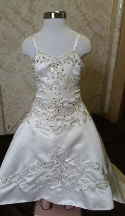 toddler wedding dress