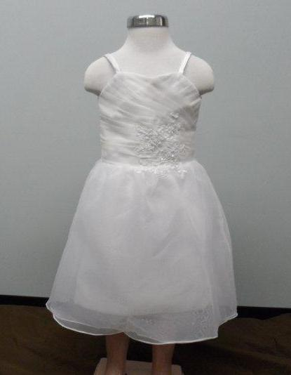 short Mini Bridal Gowns for Flower Girls