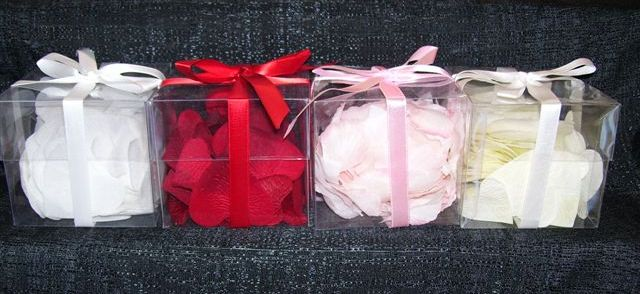 rose petals for your basket