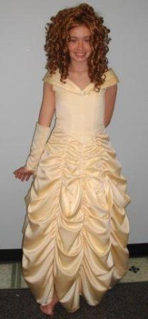 yellow pickup gown