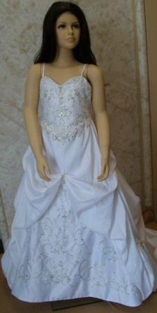 mini bridal gown
