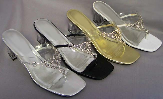 Womens/Teenagers Embellished Sandals, girls silver glitter dress shoes