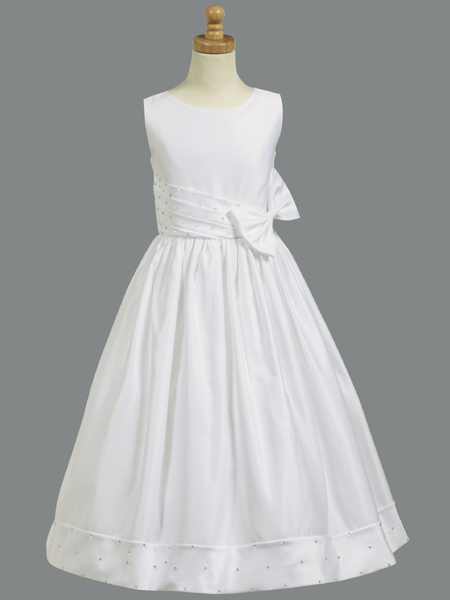 tea length Communion dress