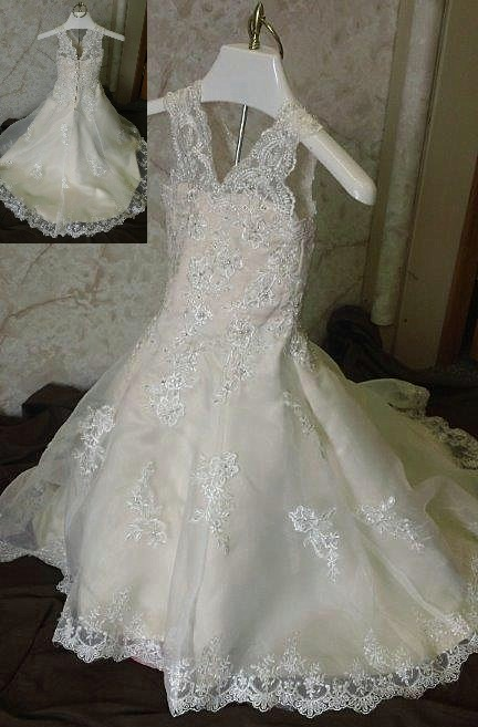 wedding dress for 2 year old