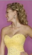 strapless sweetheart bodice