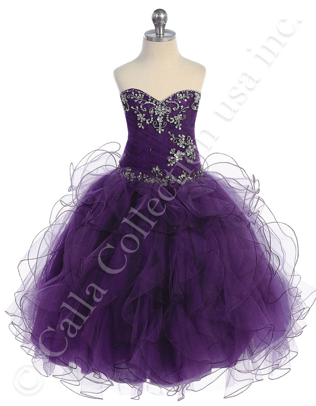 purple pageant dresses for juniors