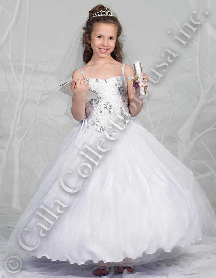 Communion gown and jacket