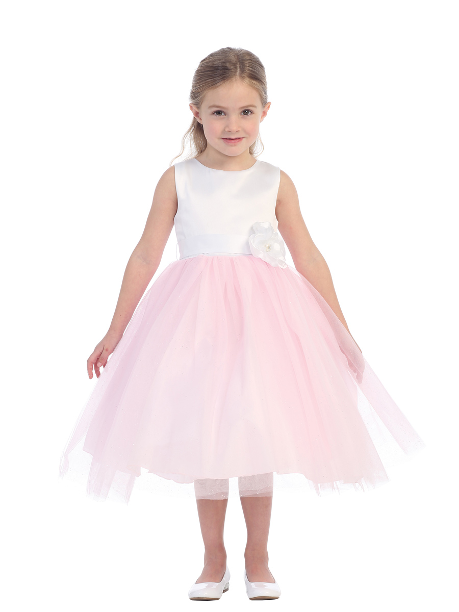 girls pink easter dresses