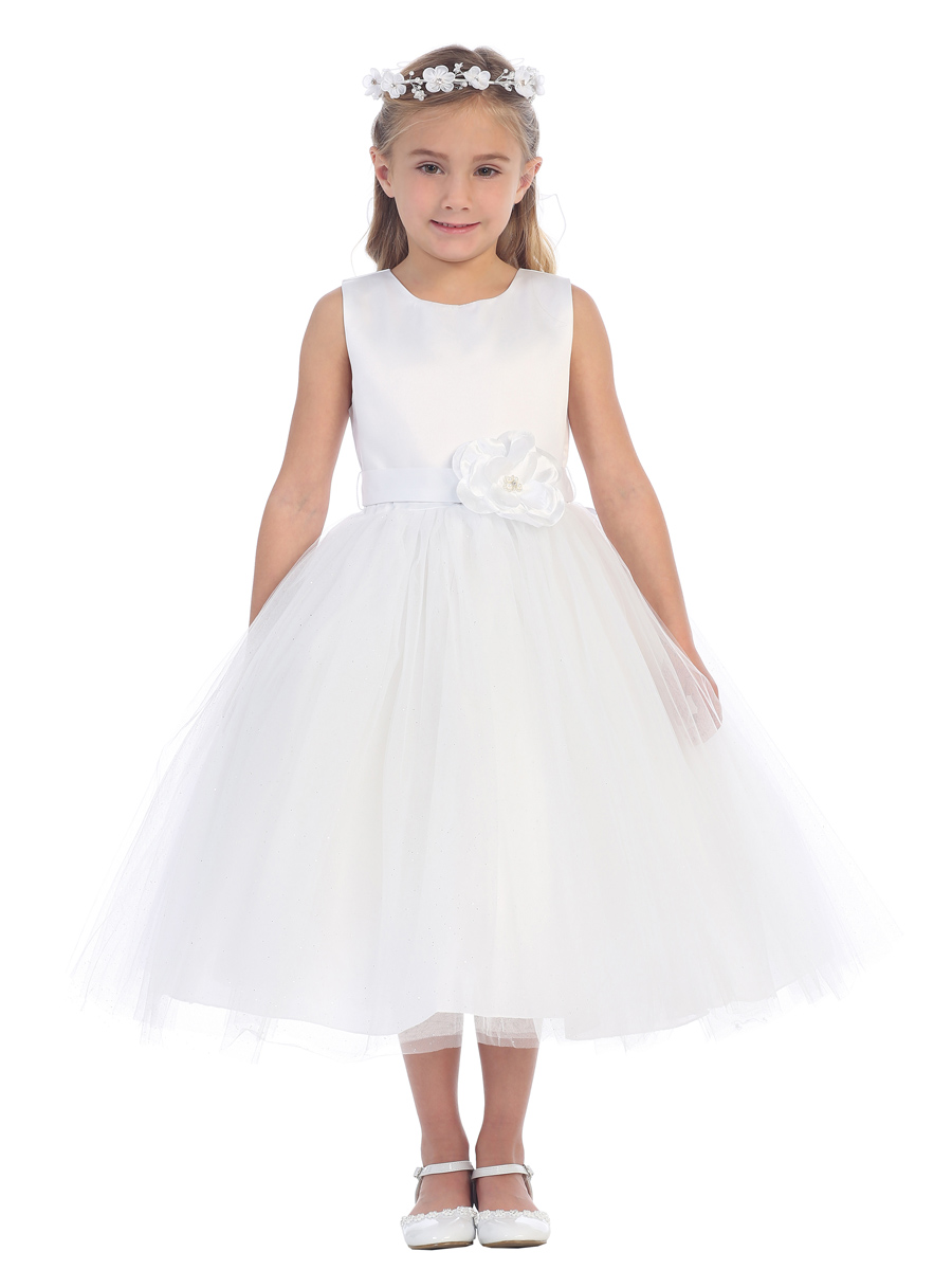 girls white dresses