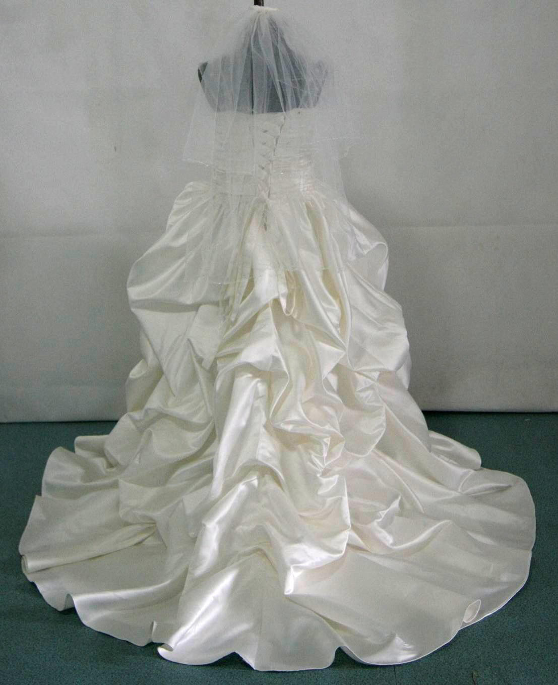 Pickup flower girl Ball Gown