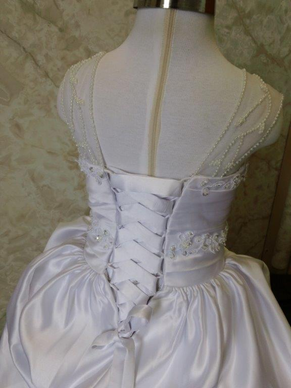 Disney Princess corset wedding gown
