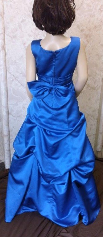 royal blue flower girl dresses